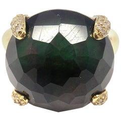 Ippolita Yellow Gold Labradorite Diamond Ring