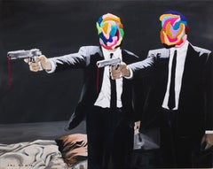 Pulp Fiction (After Banksy)