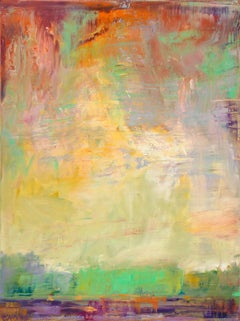 """""""Sky Earth Reflection"""" - - Romantic, American Monet, Landscape, Abstract"""