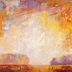 """""""Summer Space"""" -- Romantic, American Monet, Landscape, Abstract"""