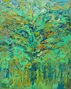 """""""Thinking of Spring"""" - - Romantic, American Monet, Landscape, Abstract"""