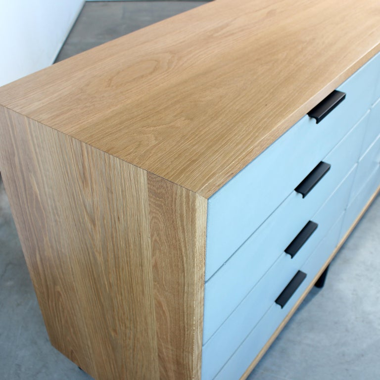 Contemporary Ira Modern Concrete, Cement Dresser and Chest by Crump and Kwash  For Sale