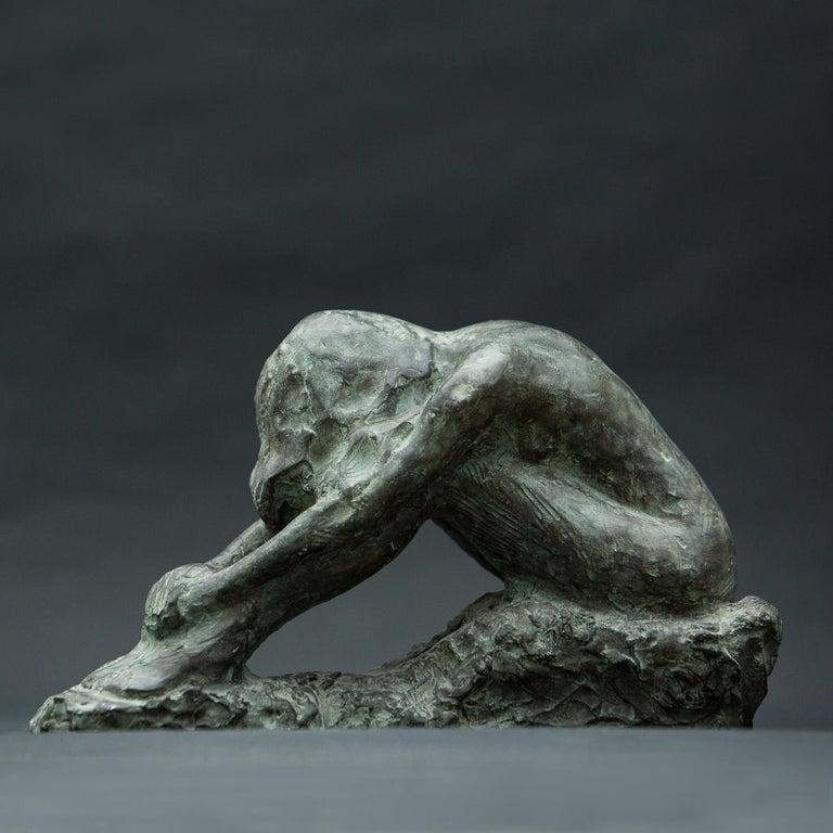 Contemporary Irati Bronze Sculpture For Sale