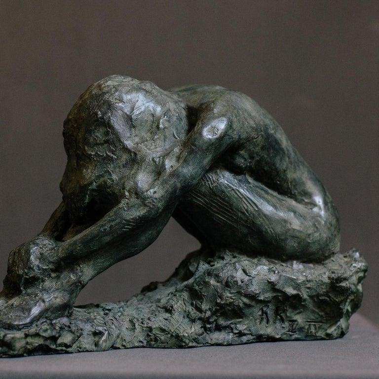 Irati Bronze Sculpture For Sale 3