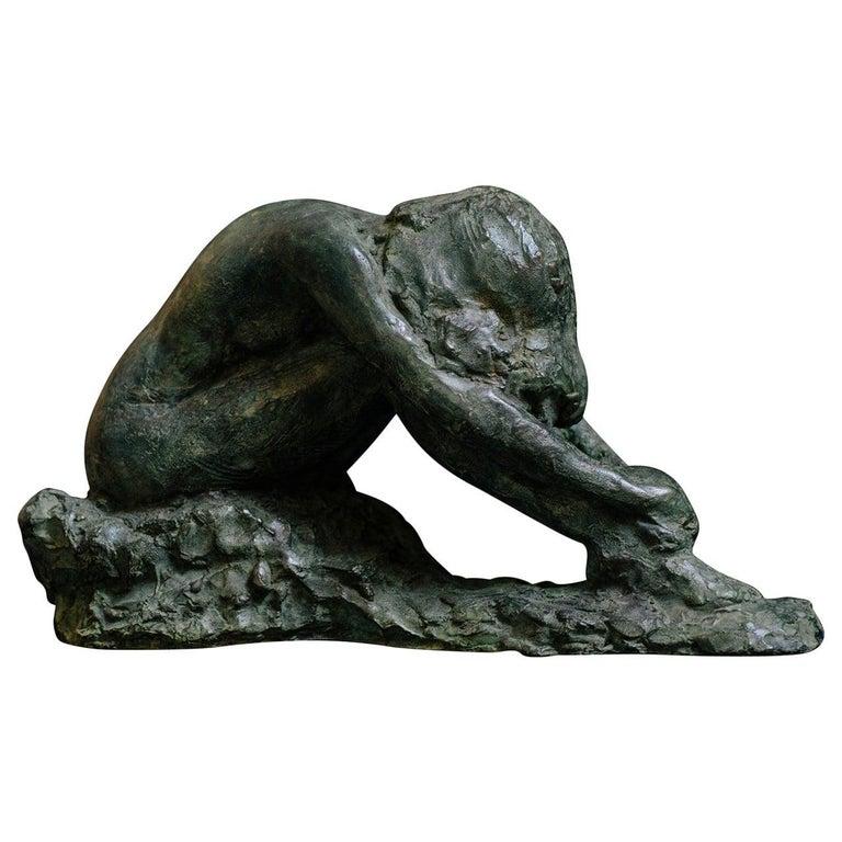 Irati Bronze Sculpture For Sale