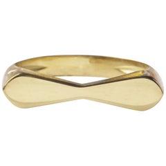 18 Karat Yellow Gold Tie Ring