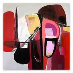 Semi Precious (Abstract Painting)