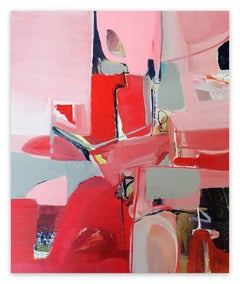 Untitled Red (Abstract Painting)