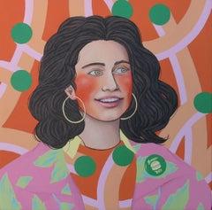 Sfitinzia #1, Painting, Acrylic on Canvas