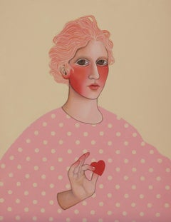 Take another little piece of my heart, Painting, Acrylic on Canvas