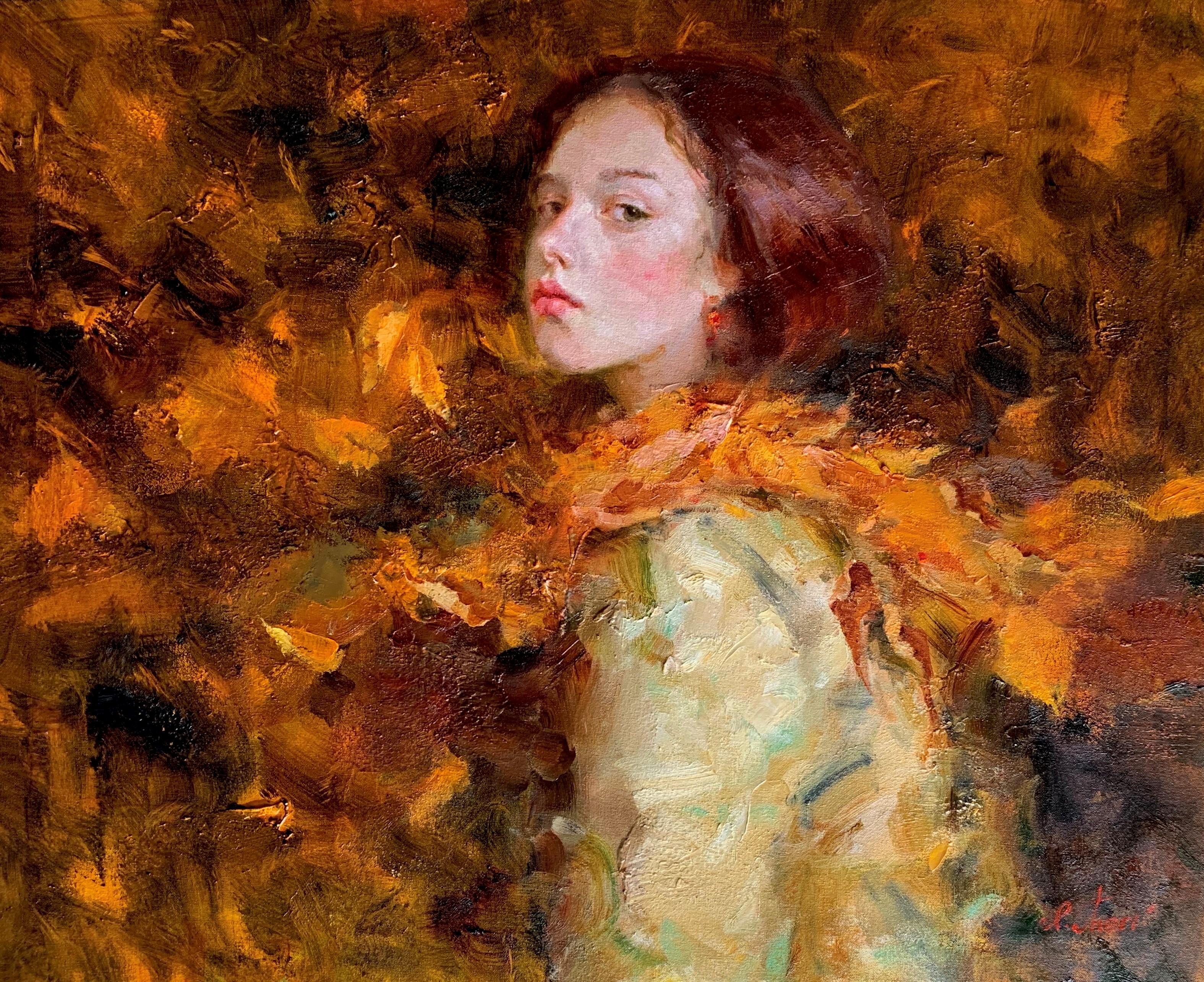 """My September,"" Oil painting"