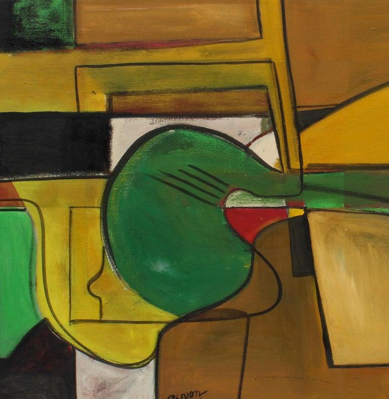 Original Abstract Expressionist 1959 New York Female Artist Irene Zevon Musical For Sale 1