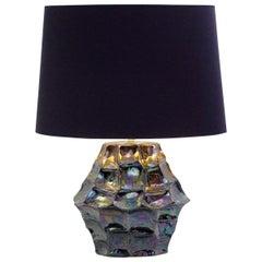 Iridescent Ceramic Table Lamp