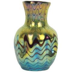 Irisierende Loetz Vase