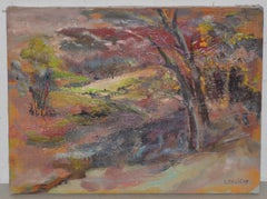 Irina Roudakoff Belotelkin (Russian / American, 1913-2009) Country Landscape c.1