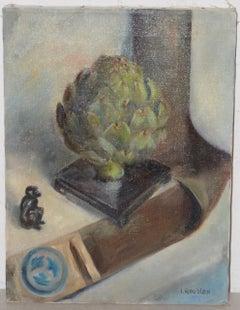 "Irina Roudakoff Belotelkin ""Still Life w/ Artichoke"" c.1960s"