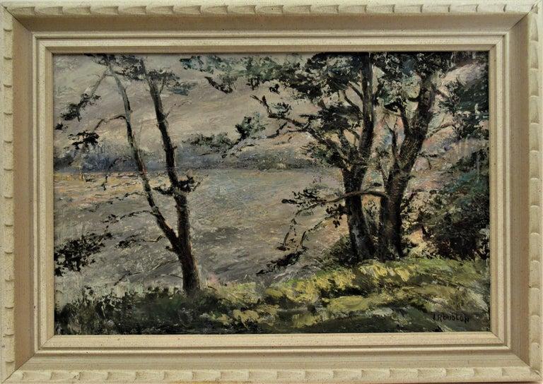 Irina Belotelkin Roublon Landscape Painting - Landscape with Trees