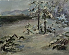 Winter Scene, Lake Tahoe