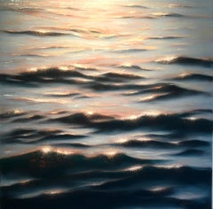 After dark - realism seascape oil painting- Contemporary Art
