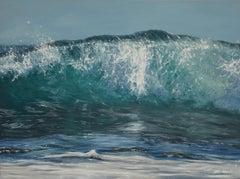 Laguna Wave original realism -seascape oil painting- Contemporary Art