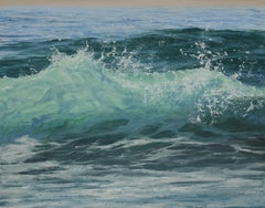Light Within original seascape painting Contemporary realism Art 21st