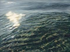 Rainbows original realism ocean painting Contemporary Art 21st Century
