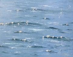 Sea Diamonds 26 original seascape painting