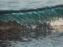 Through the Glass original realism ocean painting Contemporary Art 21st Century