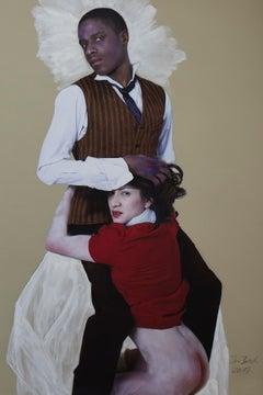 Das moderne Paar; Homage to Egon Schiele
