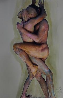 Leidenschaft, Homage to Egon Schiele, nude