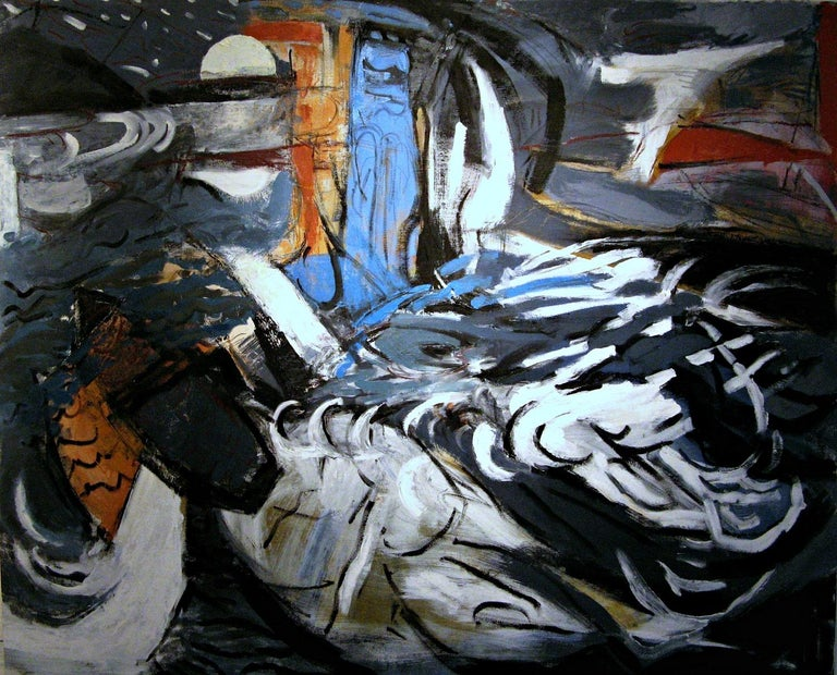 Iris Osterman Landscape Painting - Meteor Shower