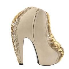Iris van Herpen X United Nude AW10 Ivory Heel (39 EU) Lady Gaga