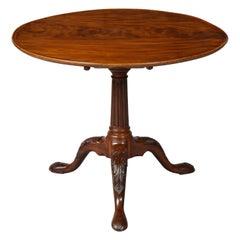 Irish Birdcage Dish Top Tea Table