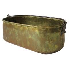 Irish Brass Bucket
