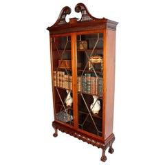 Irish Chippendale Style Cabinet, 19th Century