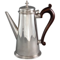 Irish George II Silver Coffee Pot, Dublin 1732 by Joseph Jackson