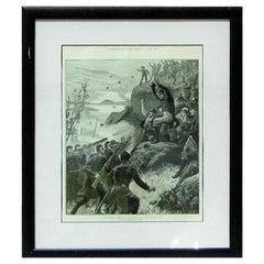 Irish Illustration of the Affray at Belmullet Co Mayo