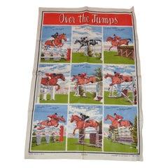 "Irish Linen Detailed ""Horse Riding Showcase"" Tablecloth"