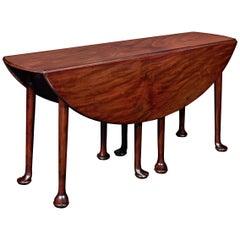 Irish Mahogany Wake Table