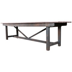 Irish Oak Farm Table