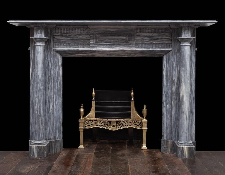 Irish Regency Fireplace In Good Condition For Sale In Tyrone, Northern Ireland