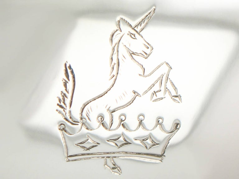 Irish Sterling Silver Sauceboats Boats For Sale 1