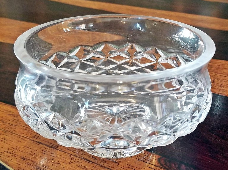 Irish Waterford Crystal Bowl Comeragh Pattern For Sale 4