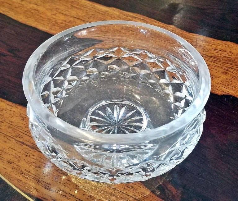 Irish Waterford Crystal Bowl Comeragh Pattern For Sale 1