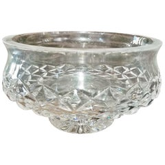 Irish Waterford Crystal Bowl Comeragh Pattern