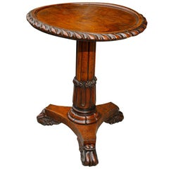 Irish William IV Pollard Oak Metamorphic Table