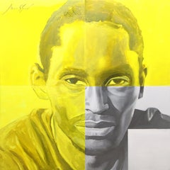 Target 100 x 100 cm., Painting, Oil on Canvas