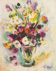 'Summer Flowers', Paris, Salon d'Automne, Post-Impressionist California Artist