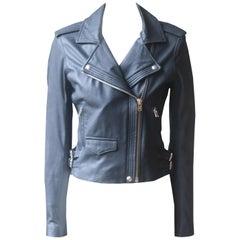 IRO Hanaspe Leather Biker Jacket