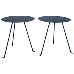 Iron and Bronze Tripod Table